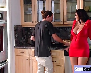 Sexy breasty amateur wife (ava addams) love intercorse on camera movie-05