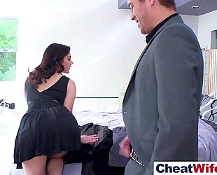 (valentina nappi) superb amateur wife in hard cheating sex scene on tape clip-28