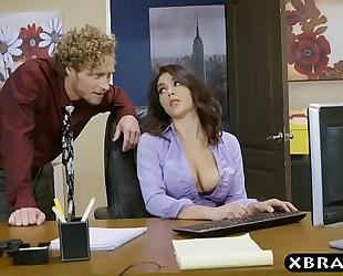 Big ass valentina nappi office footjob oral pleasure and fuck