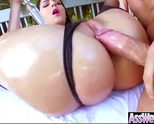 Hardcore anal sex with oiled curvy large butt dirty slut wife (valentina nappi) mov-29