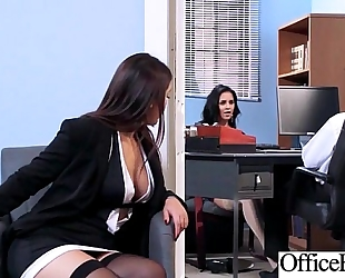 (abby lee brazil & valentina nappi) hotwife with round large pantoons in hard style sex in office clip-01