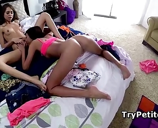 Janice griffith and riley reid eating slick muff