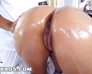 Bangbros - massaging cassidy banks's large wobblers leads to hardcore sex