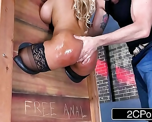 Hot latin babe milf bridgette b suggests free anal to any chap who is dude enough