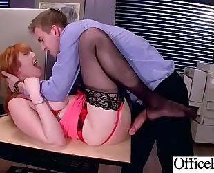 (lauren phillips) sexy breasty slutwife in hard intercorse in office movie-18