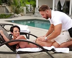 Fake masseur and a gazoo dirty slut wife