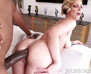 Jules jordan - jada stevens large arse femdom-goddess is back for greater quantity bbc in her legendary gazoo