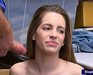 Shoplifter kimmy granger acquires boned hard