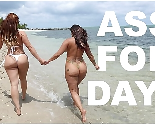 Bangbros - latin babe lesbian babes spicy j & miss raquel's asstastic day at the beach