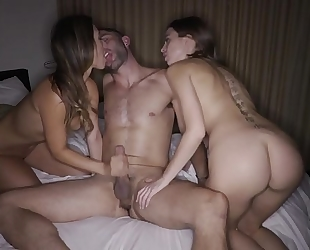 Eva lovia riley reid three-some