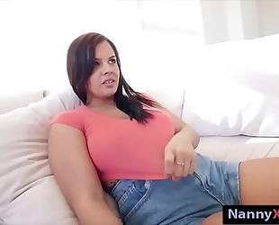 Big wobblers nanny keisha grey receives railed in her unshaved vagina