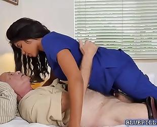 Hardcore fucking with swarthy nurse jenna foxx