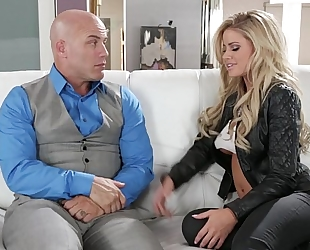 Jessa rhodes copulates her hubby's most excellent ally
