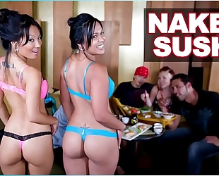 Bangbros - undressed sushi with oriental pornstar asa akira and tasha lynn