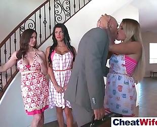 Superb cheating wife (kendra kissa peta) cheats on camera in hard style act movie-17
