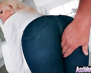 (luna star) hot amateur wife with oiled giant arse love unfathomable anal clip-21