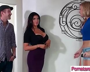 Lovely pornstar dirty slut wife (romi rain & melissa may) need and like large hard penis vid-29