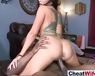 Superb horny white wife (romi rain) in cheating sex tape vid-27
