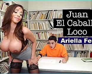 Bangbros - milf teacher ariella ferrera helps juvenile juan el caballo loco pass his class