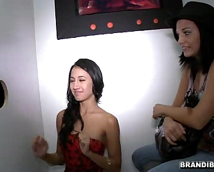 Brandi belle and amia miley go to a magnificence aperture