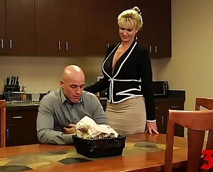 Ryan conner breasty milf in office