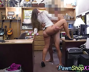 Real large butt wench screwed