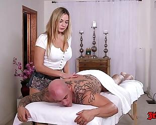 Blair williams the massage white lady
