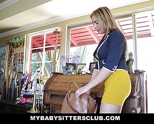 Mybabysittersclub - sexy baby sitter wants big knobs