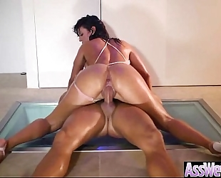 Big arse slutwife (franceska jaimes) receive oiled all over and have a fun anal sex clip-12