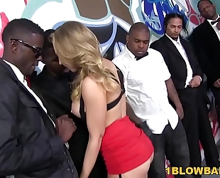 Kagney linn karter acquires group-fucked by bbc's