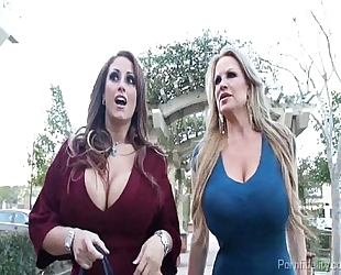 Big titty whores having a wild night on the city