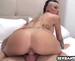 Tattooed flawless a-hole christy mack acquires nailed hard! 05