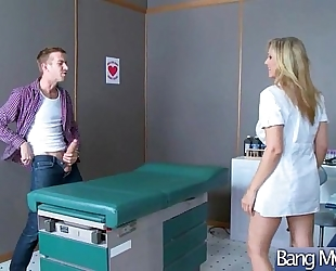 (julia ann) cute lustful patient receive sex treatment from doctor movie-21