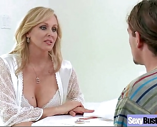 (julia ann) older large round wobblers housewife copulates on camera vid-14