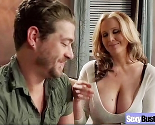 Hard sex on livecam with breasty excited dirty slut wife (julia ann) video-16