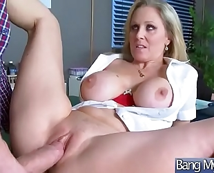 (julia ann) slutty floozy patient group-sex with doctor clip-15