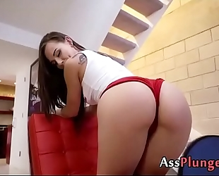 Aidra fox fingered in her ass during ping pong game