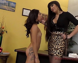Mercedes carrera and jasmine summers femdom