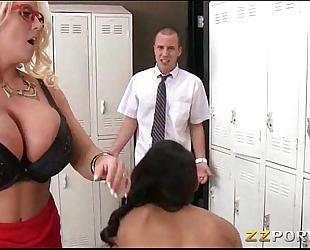 Alby rydes n bf analed with her breasty teacher alura jenson
