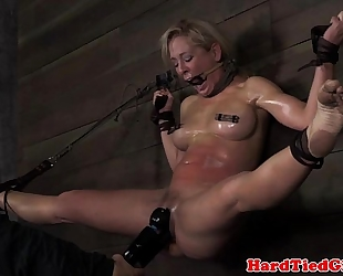 Wall fastened up sub cherie deville caned
