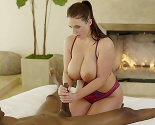 Blacked adria rae and ariana marie 1st interracial 3some