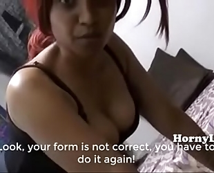 Horny lily mamma son particular training classes in hindi english