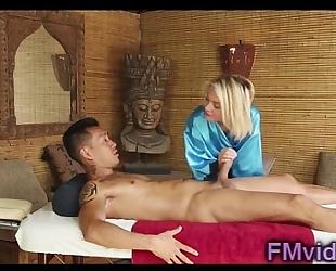 Sexy blond dakota skye with oriental dude