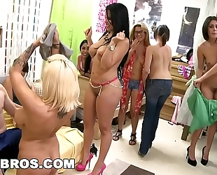 Bangbros - dorm invasion with diamond kitty, lylith lavey & anastasia morna
