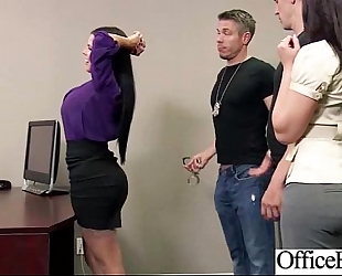 (diamond kitty) breasty office doxy excited white women team-fucked clip-15