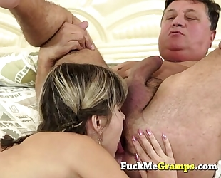 Tiffany loves the mature stud