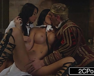 The game of thrones xxx parody - storm of kings - anissa kate, jasmine jae