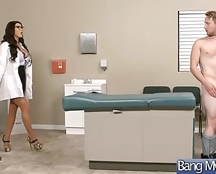 Hardcore sex betwixt doctor and doxy concupiscent patient (august taylor) video-07