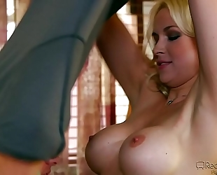 Sara vandella gangbanged by favourable fellow