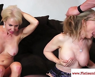 Erica lauren and nina hartley share weenie